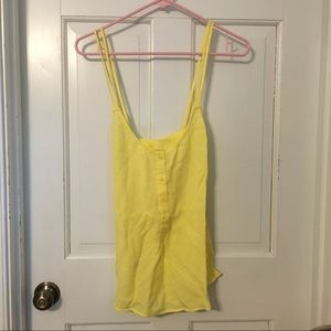 Yellow top from Anthropologie M
